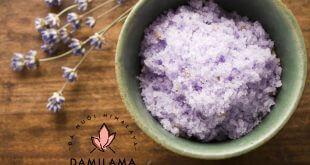 Hình ảnh Công Thức Muối Tắm Himalaya Lavender chính hãng tốt giá rẻ nhất tại DamiLama