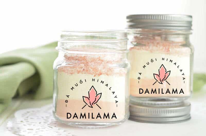 Hình ảnh Đá Muối Hồng Himalaya và Cách Chế Biến Sữa Tắm Tại Nhà chính hãng tốt giá rẻ nhất tại DamiLama