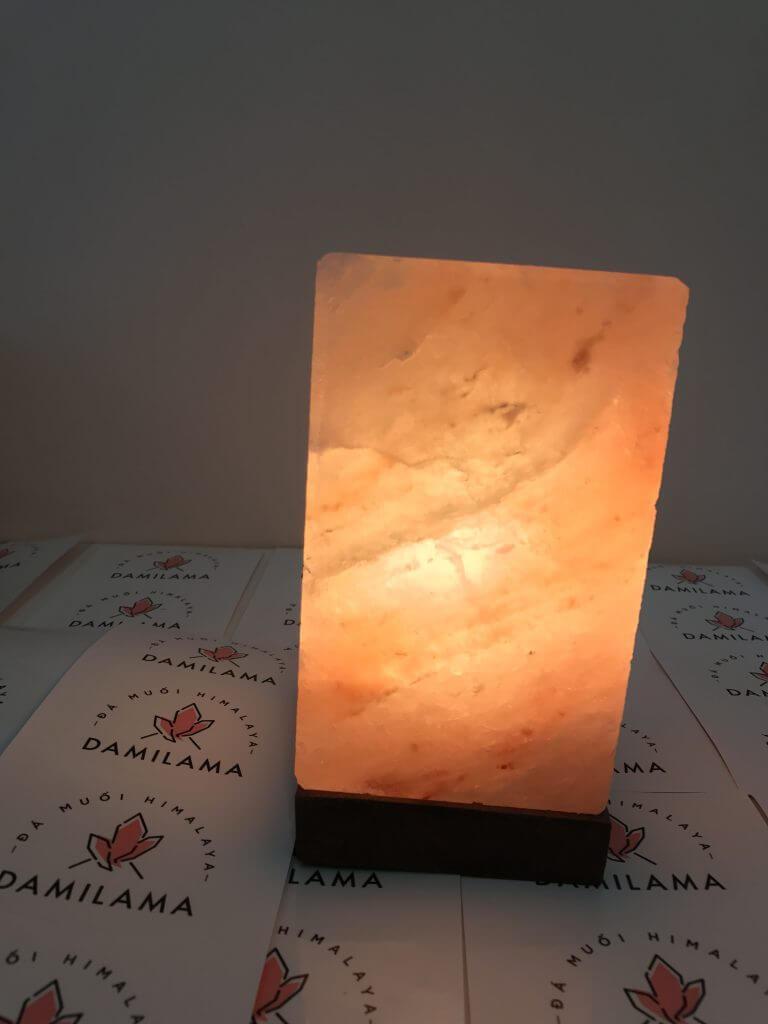 Đèn đá muối hình vuông - Đèn Đá Muối Himalaya Massage - Phong Thủy Giá Rẻ