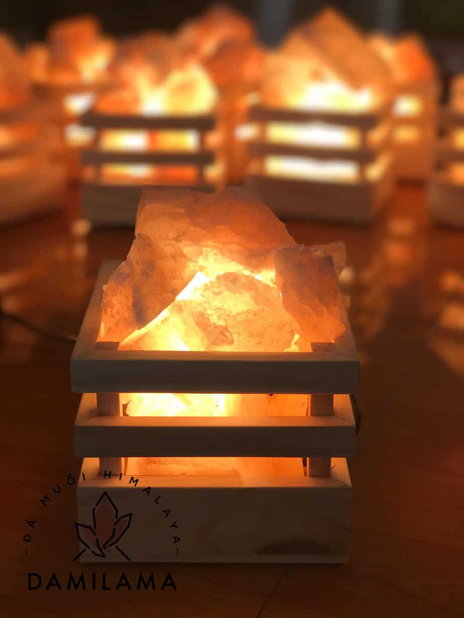 Giỏ Đèn Đá Muối Himalaya 1 2020