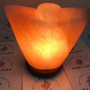 Hình ảnh Đèn Đá Muối Phong Thủy Hình Thỏi Vàng chính hãng tốt giá rẻ nhất tại DamiLama